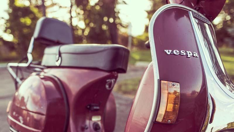 Las scooter se unen a la moda retro