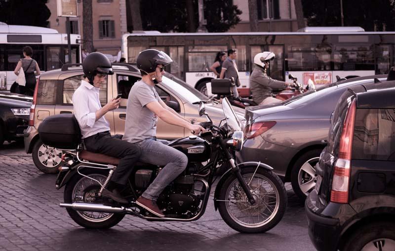 conduccion segura en motos