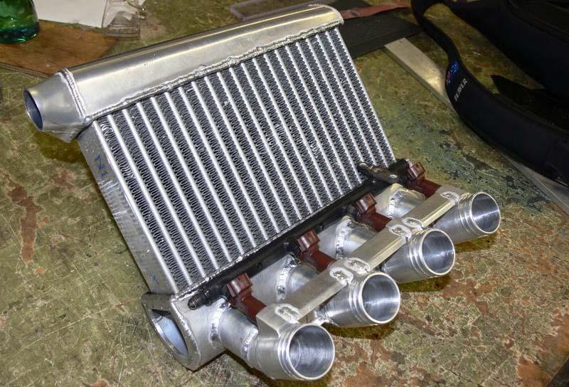 Qué es el intercooler y el radiador de aire de transmisión