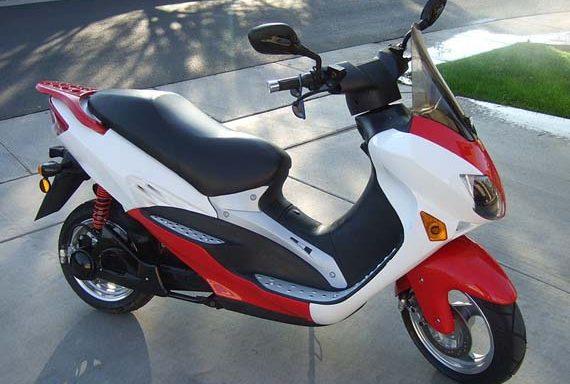 Piezas scooter